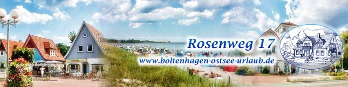 Ferienwohnung Ostsee Boltenhagen Urlaub Ferienhaus Rosenweg 17
